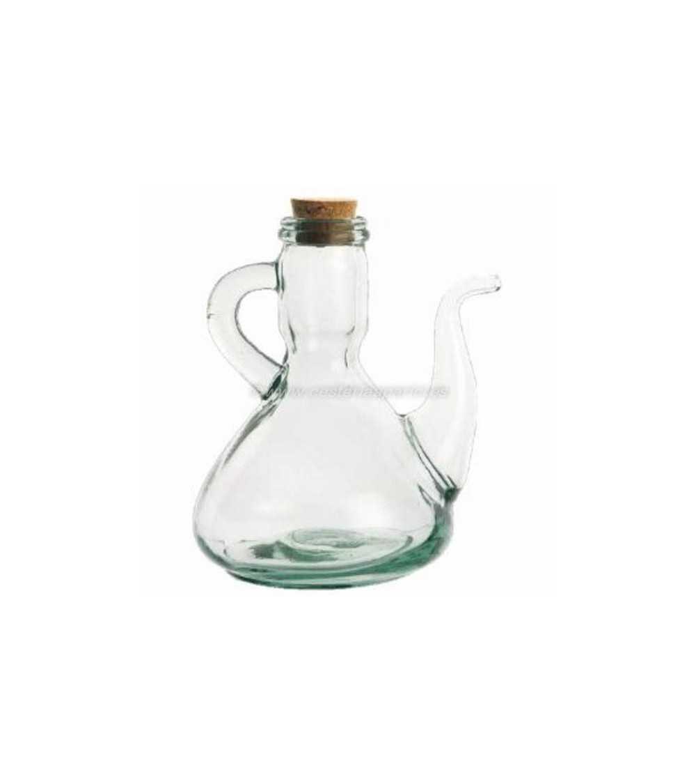 Aceitera de vidrio