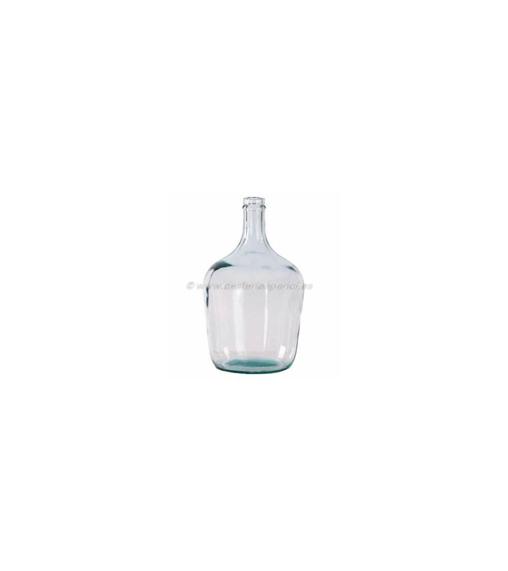 Garrafa de vidrio de boca estrecha