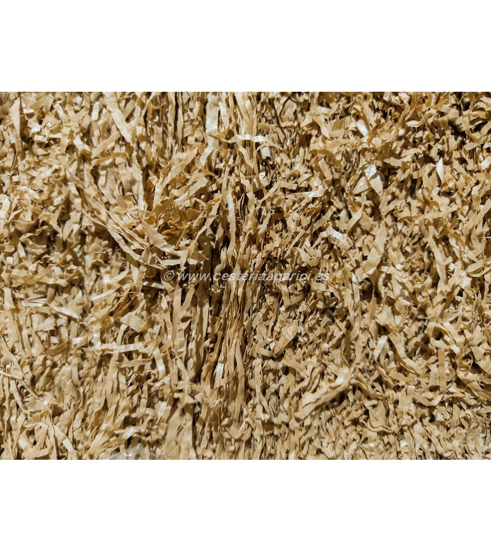 Bala 36kg de viruta de papel para relleno cestas