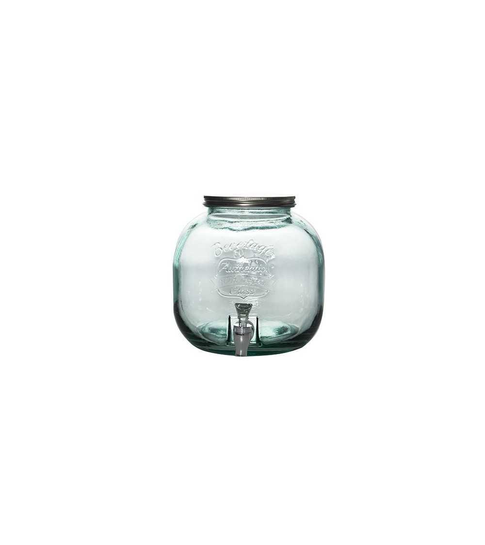 Dispensador de bebidas de cristal 6litros Bavaro