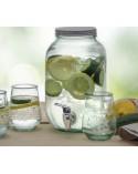 Dispensador de bebidas de cristal 12,5litros