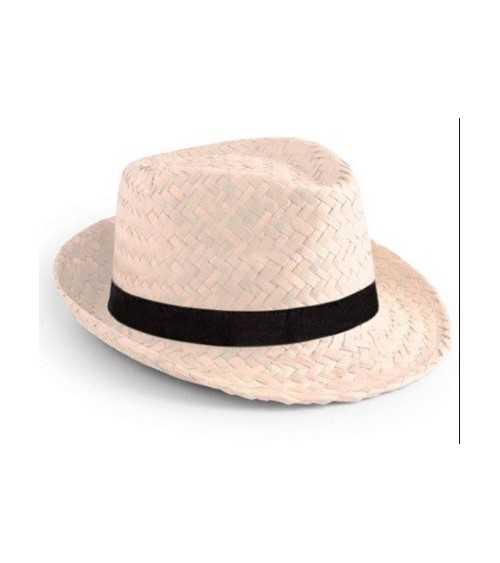 Sombrero tiroles con cinta negra
